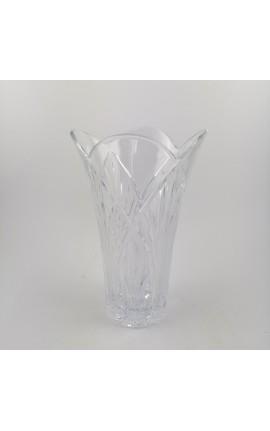 Vaso da Fiori in Cristallo al Piombo 24% h.25cm