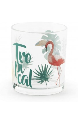 Excelsa Tropical Set 3 Bicchieri, Vetro